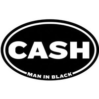 Johnny Cash - Sticker