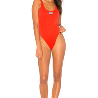 KENDALL + KYLIE X REVOLVE USA One Piece in Tomato