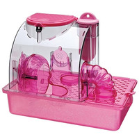 Penn Plax Pink Princess Hamster Cage - Small