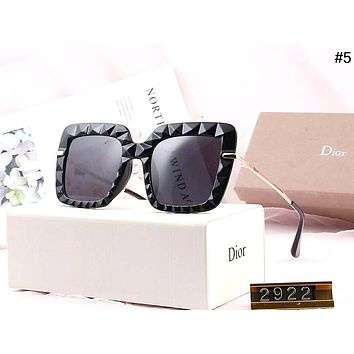Dior 2019 new driving tour female models large frame polarized sunglasses #5