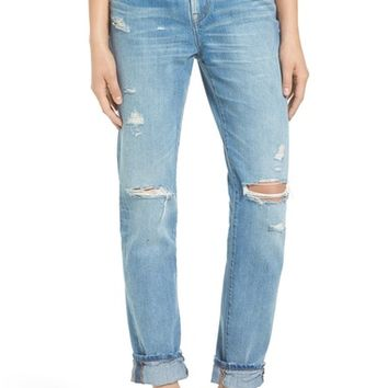 Madewell Perfect Vintage Destroyed High Rise Boyfriend Jeans (Chet) | Nordstrom
