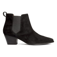 H&M Suede Boots $79.99