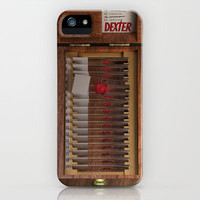 I-Dex Dexter Blood slide Iphone case... iPhone & iPod Case by Emiliano Morciano (Ateyo)