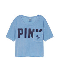 Shrunken Tee - PINK - Victoria's Secret