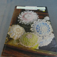 Crochet Patterns, Thread Crochet, Scentsational Sachets, Sachets, Bowls, Basket, Annie's Attic, 1989 OOP
