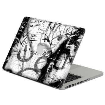 "cool graffiti Laptop Decal Sticker Skin For MacBook Air Pro Retina 11"" 13"" 15"" Vinyl Mac Case Body Full Cover Skin"