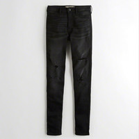 Girls High-Rise Super Skinny Jeans | Girls New Arrivals | HollisterCo.com