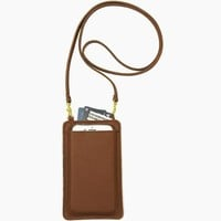 Two Pocket Cell Phone Crossbody Bag