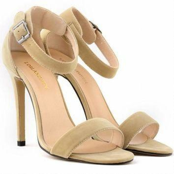 ONETOW SEXY PARTY OPEN TOE Women Pumps BRIDAL Flock HIGH HEELS SHOES Ladies SANDALS US SIZE 4