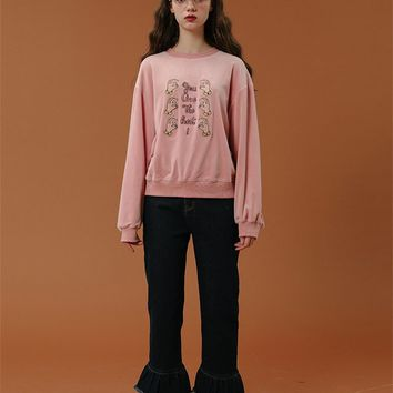 Tyakasha Fighting Back Ruffle Sweatshirt