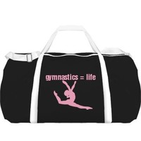 Gymnastics Equals Life: Custom Sport Roll Bag