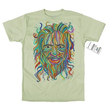 Alan Watts T shirt Artwork