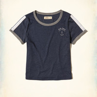 Girls Graphic Baby Tee | Girls Clearance | HollisterCo.com