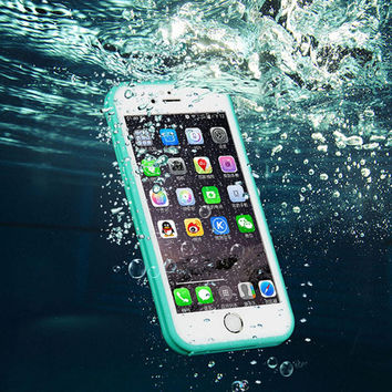 Waterproof Case Cover for iPhone 6s Plus / iPhone 6 Plus Free Shipping