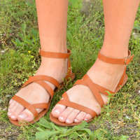 Chasing Dreams Sandals - Tan