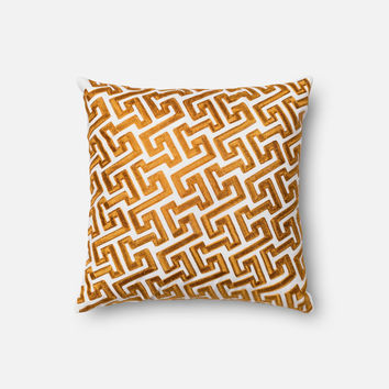 Loloi Gold Decorative Throw Pillow (P0077)
