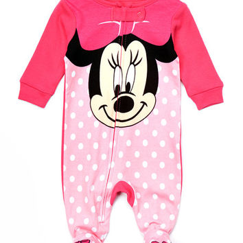 Minnie Mouse Footie - Infant