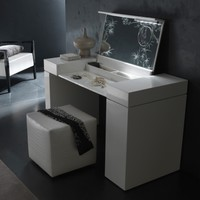 Nightfly White Bedroom Vanity Set | www.hayneedle.com