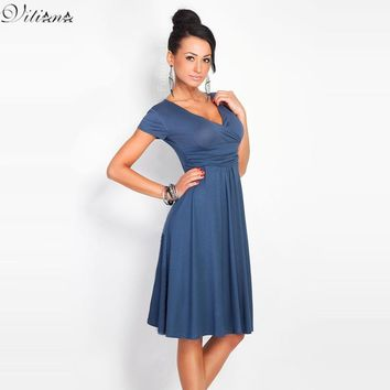 Fashion Women Sexy Body con Dresses Feminine Work Business Plus Size Casual Summer Party Dresses