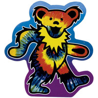 Grateful Dead - Tie Dye Bear Decal