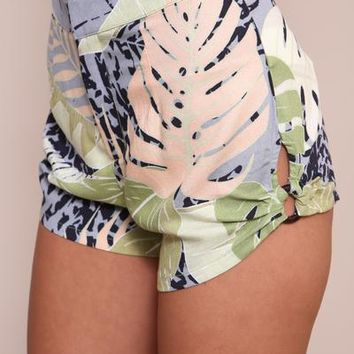 Aloha Waisted Shorts by Minkpink | SHOPLUNAB