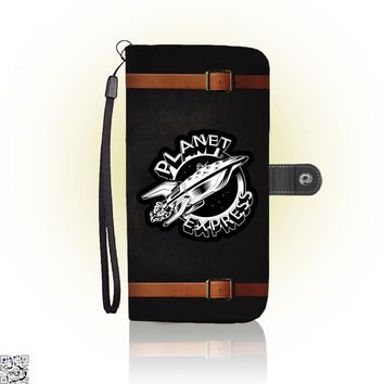 Planet Express Black And White, The Simpsons Wallet Case