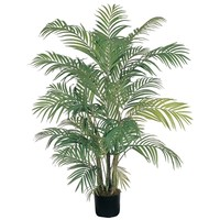 SheilaShrubs.com: 4' Areca Silk Palm Tree 5001 by Nearly Natural : Outdoor Garden Decor Silk Trees & Plants
