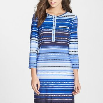 Women's Donna Morgan Print Jersey Shift Dress