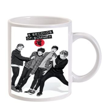 Gift Mugs | 5 Seconds Of Summer Band Ceramic Coffee Mugs
