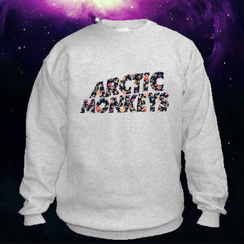 Arctic Monkeys flower sweater Sweatshirt Crewneck