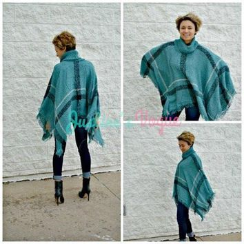 Falling For Bohemian Pullover Poncho