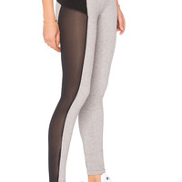 Blue Life Fit Cut It Out Legging in Grey Rib | REVOLVE