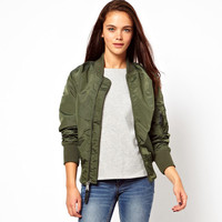 BOMBER JACKET (ARMY) | Paper Kranes