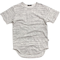 French Terry Long T-Shirt Marble