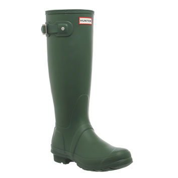 Hunter Hunter Original Welly Hunter Green - Knee Boots