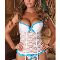 MOONIGHT Hot Seller Sexy Lingerie Women Top Underwear Hot Sexy Erotic Lingerie Lace Sleepwear Erotic Sleepwear