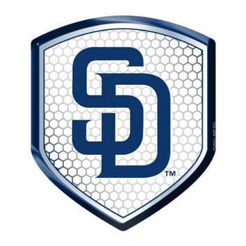 San Diego Padres MLB Reflector Decal Auto Shield for Car Truck Mailbox Locker Sticker Baseball Licensed Team Logo