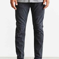 Neuw Ray Busted Tapered Jean- Grey