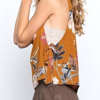 Raleigh Floral Print Blouse