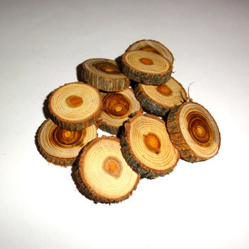 Wood slices, wood discs, small wooden slice. For wooden pendants, wooden jewelry, wood wall art, wood rings, wood letters, wood signs ...etc