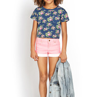 Flower Girl Pocket Tee (Kids)