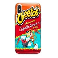 CHIPOTLE RANCH HOT CHEETOS CUSTOM IPHONE CASE