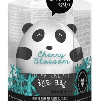 Oh K! Panda Shaped Hand Cream - Cherry Blossom Scented