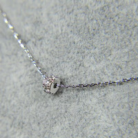 womens simple style Silver necklace gift 39