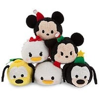 Mickey and Friends ''Tsum Tsum'' Holiday Mini Plush Collection