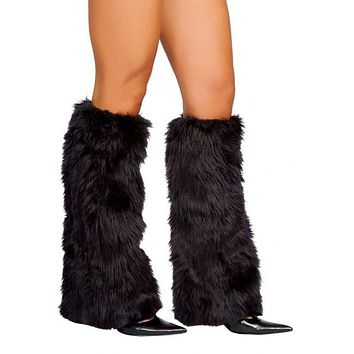 Colorful Fur Boot Covers