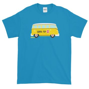 SCHOOL VAN - STOP - Short Sleeve Shirt