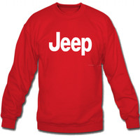 Jeep Crew Neck Sweatshirt