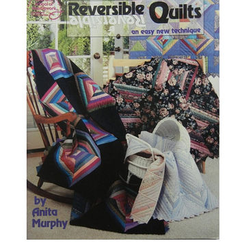 Reversible Quilts Book, Easy Technique from American School of Needlework
