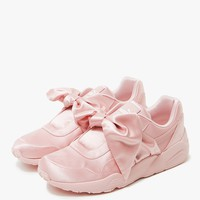 Puma / Bow Trinomic in Silver Pink